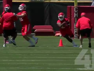 Chiefs 3-day rookie mini camp comes to an end