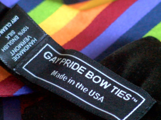 Olathe man starts Gay Pride Bow Ties for LGBT community and