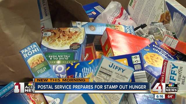 United Way holding mailbox food drive May 12, 13