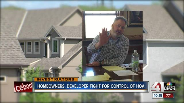 Residents, developer fight for control of HOA with $300,000 stuck in