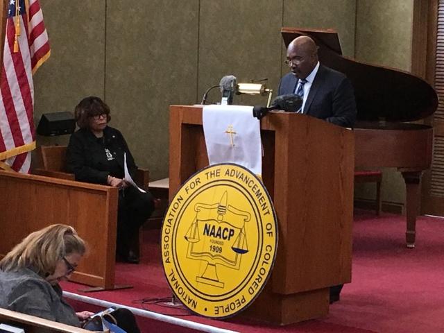 NAACP urging Gov. Greitens to veto SB 43