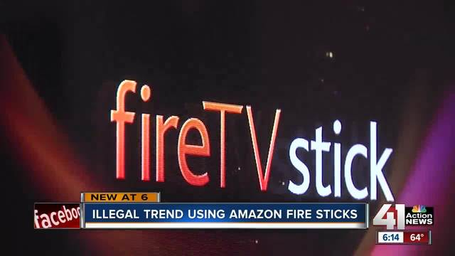Illegal trend using Amazon Fire sticks