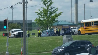 Deadly wreck outside Blue Valley school