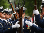 Navy parachutist dies during demonstration in NJ