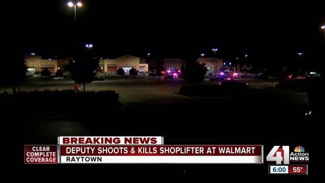 Deputy shoots- kills shoplifting suspect at Raytown Wal-Mart