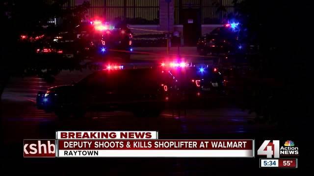 Deputy shoots- kills male at Raytown Wal-Mart