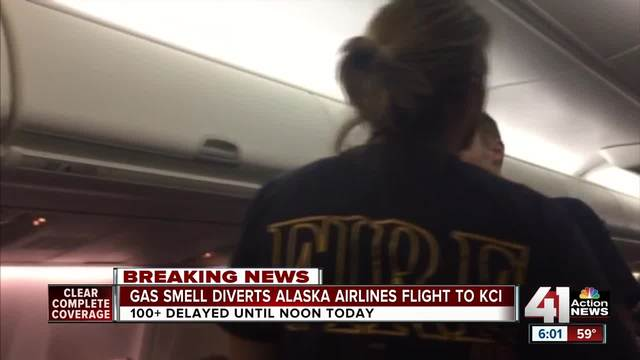 Alaska Airlines Flight From Fort Lauderdale/Hollywood Int'l Airport Diverted to Kansas City