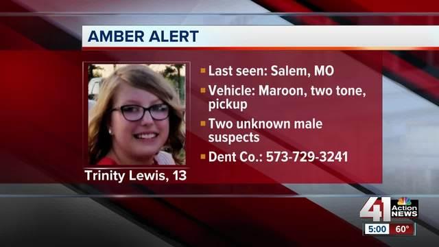 Amber Alert canceled after Missouri girl found safe