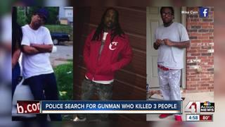 Police investigate triple homicide in KCMO