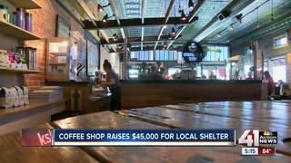 Local coffee shop donates tips to greater good