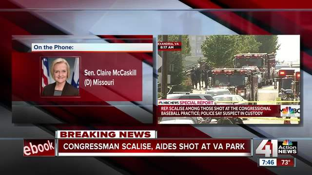Republican House whip Steve Scalise shot in Virginia shooting