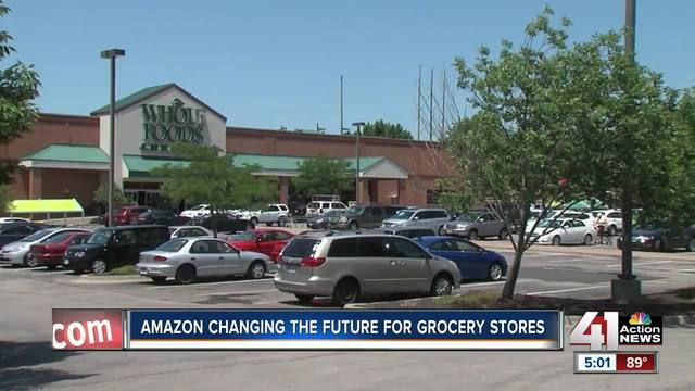 Amazon-Whole Foods Marriage Could Disrupt Grocery Business (NASDAQ:AMZN)