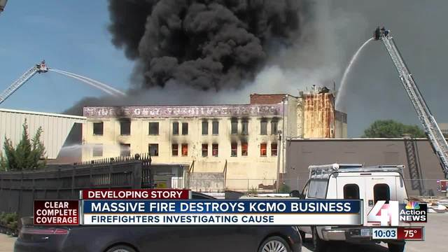 A Three Alarm Fire Engulfed A Furniture Store On Southwest Boulevard Near  Downtown Kansas City Tuesday.