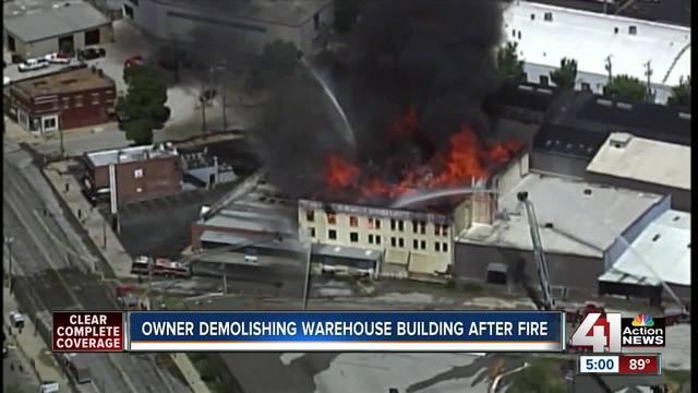 Crews Begin Investigation Into 3 Alarm Fire At Kansas City Furniture  Warehouse   KSHB.com 41 Action News