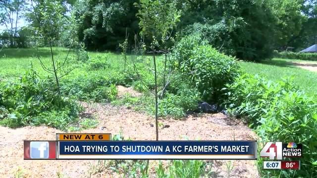Urban KC farmers market fights HOA to stay open