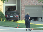 Car into house, man dead outside in north KCMO