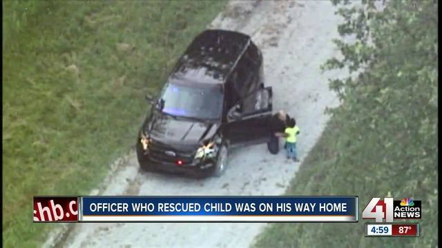 Child in stolen vehicle found safe, search for suspects continues