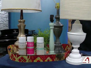 How to revamp an old lamp