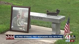 Family helps vets, first responders with PTSD