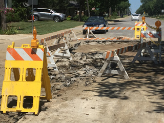 Water main break leaves KS town nearly waterless