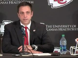 Kansas City Chiefs introduce new GM Brett Veach