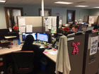 Busy day at 311 Call Center after weekend storm