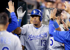 Perez, Moustakas homer in 12th to beat Tigers