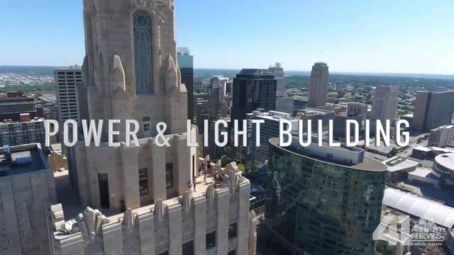 Taste -amp- See KC- Power -amp- Light Building stands as a beacon of art…