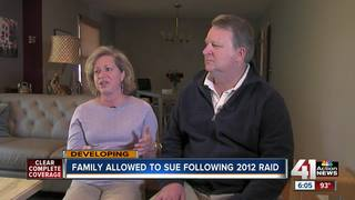 Family allowed to sue deputies after 2012 raid