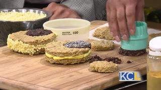 Eclipse themed desserts