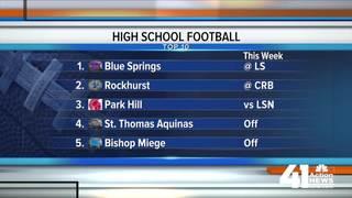 Weekly ranking: KC's best HS football teams