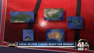 Local 'eclipse chasers' travel near and far
