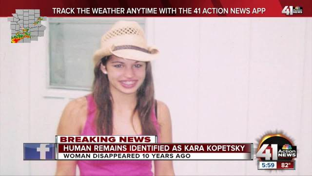 Months after discovery, remains identified as those of Kara Kopetsky