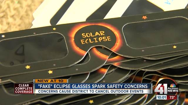 Eudora Schools given counterfeit eclipse glasses