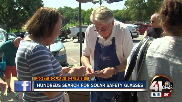 Local store becomes hotspot for eclipse glasses