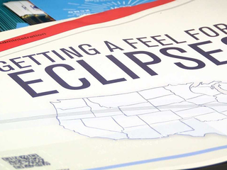 NASA creates Braille eclipse book
