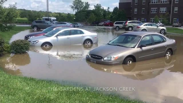 Historic Flooding Underway in Kansas City