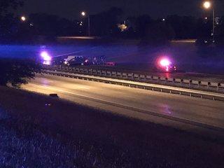 Man dies in shooting, crash on Highway 71