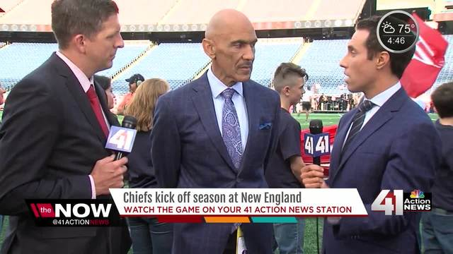 Tony Dungy talks Chiefs vs- Patriots game