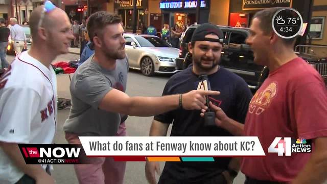 What do fans at Fenway know about KC?