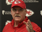 Andy Reid frustrated about Kelce questions