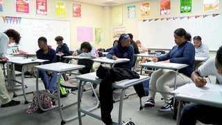 Local charter school named Blue Ribbon School
