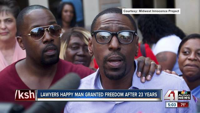 Wrongly convicted U.S. man freed after 23 yrs in prison