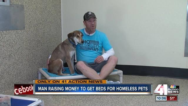 Man raises thousands for KC animal shelters