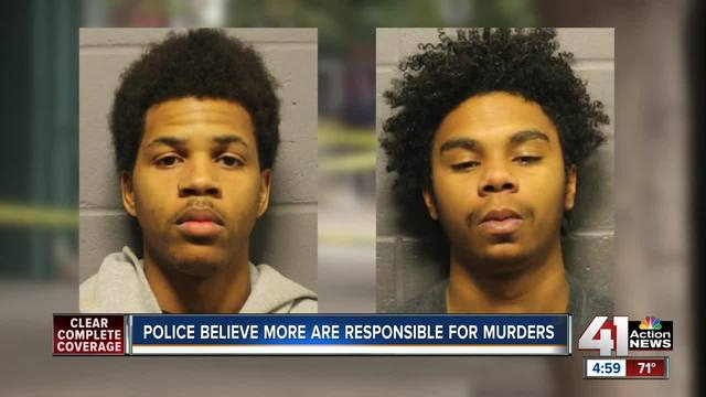 Two suspects in custody tied to Lawrence shooting