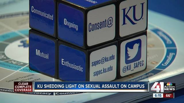 KU shedding light on sexual assault on campus