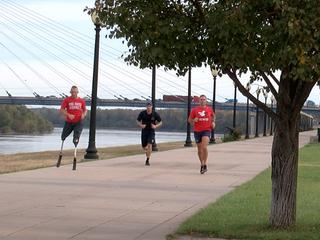 Veteran to run 31 marathons in 31 days