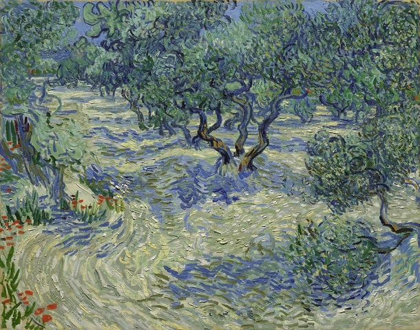 Real grasshopper found immortalized in van Gogh painting