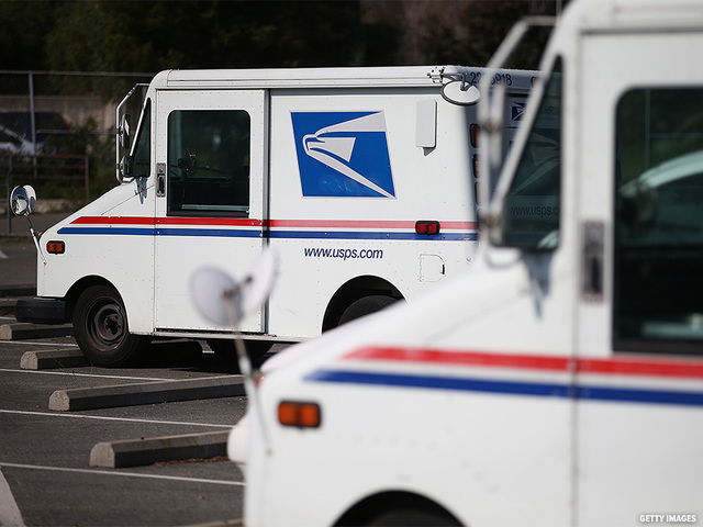 USPS- 850 million packages will be delivered this year