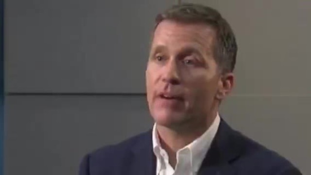 Missouri Gov- Greitens indicted on felony charge
